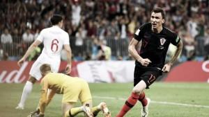 Mandzukic decide, Croácia passa pela Inglaterra e vai à final da Copa pela primeira vez