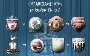 Sorteada la sexta ronda de la FA Cup