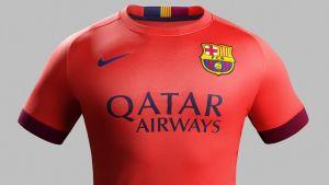 Nike present Barcelona's bright new away kit