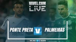 Resultado e gols Ponte Preta 3x0 Palmeiras no Campeonato Paulista 2017
