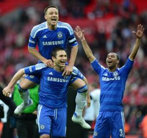 Chelsea beat Liverpool in FA Cup final at Wembley
