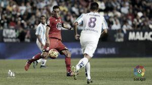 Espinho debutó con el Málaga CF