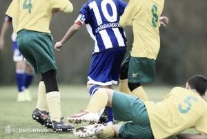 Empate sin goles entre Fabril y Rápido de Bouzas