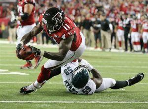 Matt Ryan, Julio Jones Lead Atlanta Falcons Over Philadelphia Eagles