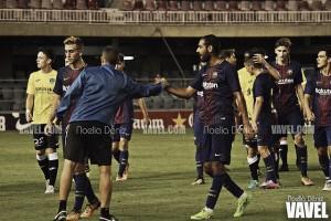 """Fali: """"El Barça me está haciendo mejor futbolista"""""""