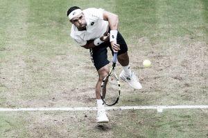 Falla se despidió de Wimbledon