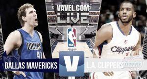 Resultado Dallas Mavericks vs Los Angeles Clippers en vivo (129-99)