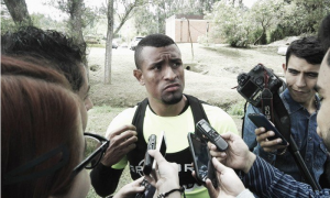 """Farid Díaz: """"Sao Paulo es un rival difícil y tenemos que hacer bien las cosas"""""""