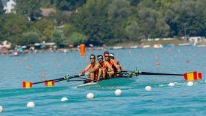 El cuatro sin timonel pesado español, más cerca de los Juegos Olímpicos de Río