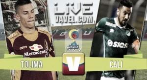 Resultado Deportes Tolima 1-0 Deportivo Cali en Liga Águila 2016