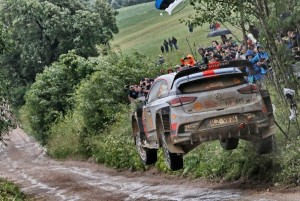 WRC Rally Polonia - Day 1: lotta nel fango