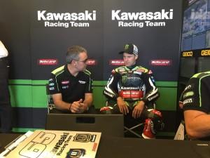 WorldSBK, GP degli USA - Rea risponde a Davies e si porta davanti