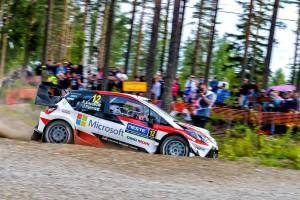 Wrc, Rally di Finlandia - Day1: vola Lappi, Neuville non ne approfitta