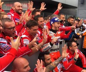 """MotoGp, Gp del Giappone - Gioia Ducati, rammarico Suppo: """"Che duello tra Marc e Dovi, bravissimi entrambi"""""""