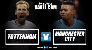 Tottenham - Manchester City, confronto elettrico