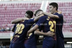 El Barça B empata en Oviedo
