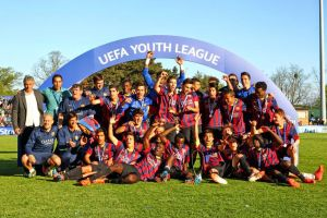 El Juvenil A ya tiene rivales para la Champions Youth League