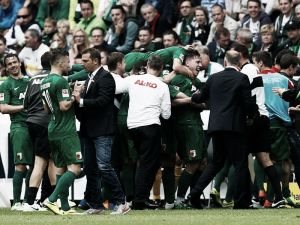 Borussia Mönchengladbach 1-3 FC Augsburg: FCA soar to Europe