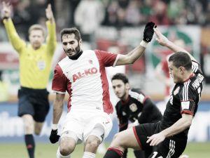 FC Augsburg 2-2 Bayer Leverkusen: Hitz the hero as hosts rescue a point