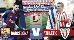 El tridente mantiene con vida al Barça en la Copa del Rey