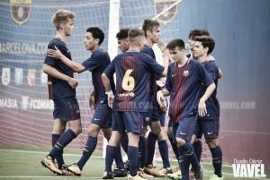 El FCB Juvenil A se viste de líder