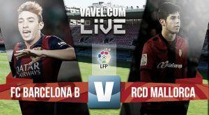 Barcelona B - Mallorca en directo online (2-4)