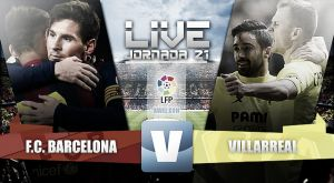 Resultado Barcelona vs Villarreal en la Liga 2015 (3-2)