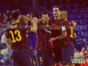 FC Barcelona Alusport, a un paso de la Final Four de la UEFA Futsal Cup
