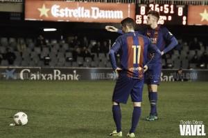 El balón parado, solución de éxito para el Barça B