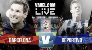 Barcelona vs Deportivo de La Coruña en vivo online en la Liga BBVA 2015 (0-0)