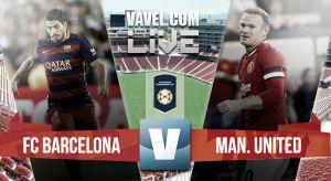 Score Barcelona vs Manchester United in ICC 2015 (1-3)