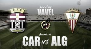 FC Cartagena - Algeciras CF: El alejarse del descenso pasa por el Cartagonova