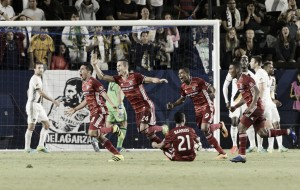 2016 Lamar Hunt U.S. Open Cup: FC Dallas through to the finals after scoring twice in extra time to defeat Los Angeles Galaxy