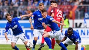 Karlsruher SC 1-3 1. FC Kaiserslautern: KSC relegated to 3. Liga