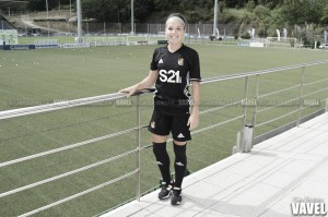 """Entrevista. Claudia Zornoza: """"La Real Sociedad siempre ha sido un equipo competitivo con margen de mejora"""""""