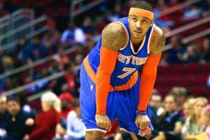 Preocupación por el estado de Carmelo Anthony