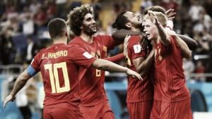 Bélgica - Japón: puntuaciones de Bélgica, Mundial de Rusia