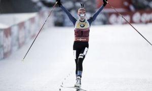 Biathlon, inseguimento femminile Hochfilzen: Makarainen vince per dispersione, sesta Oberhofer!