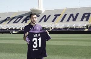 Fiorentina, altra cessione: Milic passa all'Olympiacos