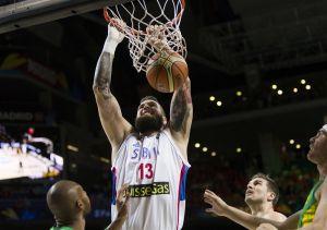 Basket,Mondiali Spagna 2014: vittoria roboante della Serbia, Brasile ko