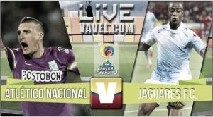 Resultado Atlético Nacional vs. Jaguares F.C por Liga Águila-2 (2-1)