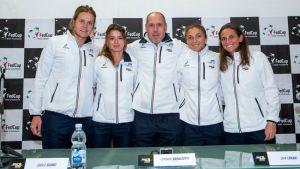 Fed Cup: Errani - Garcia ad aprire Italia - Francia