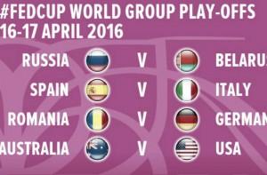 Fed Cup: Italia contro Spagna per restare nel World Group