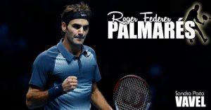 Roger Federer: palmarés