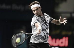 Roger Federer triunfa en su vuelta a Dubai