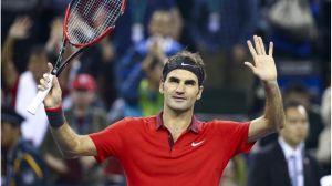Federer reina en Shanghai