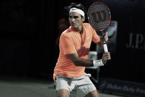 """Roger Federer: """"Fernando jugó bien, pero yo estuve bastante consistente"""""""
