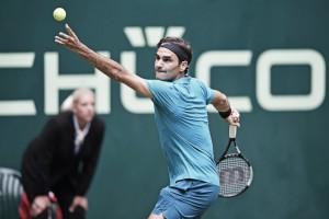 Com tranquilidade,Federer passa por Bedene na primeira rodada do ATP 500 de Halle