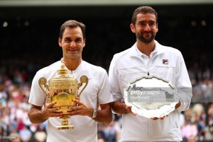 Wimbledon 2017: Federer wins record eighth title with victory over Marin Cilic