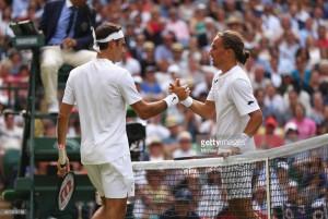 Wimbledon 2017: Djokovic and Federer progress after back-to-back retirements